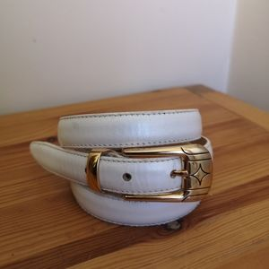 2/$20 Vintage Kudos genuine leather belt